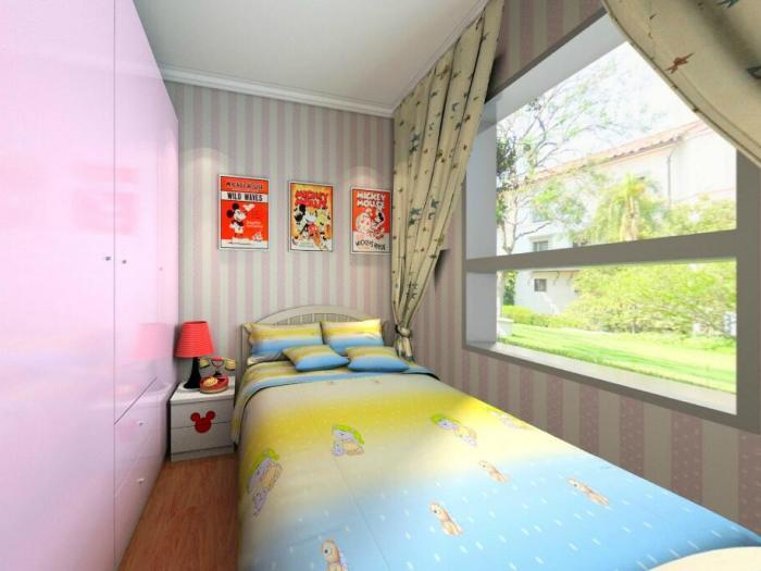 -101平米三居室-装修样板间