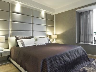 现代简约-1218平米三居室装修样板间