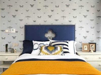 混搭风格-140平米三居室装修样板间