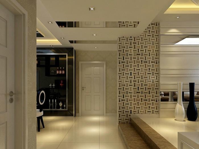 现代简约-144平米四居室-装修样板间
