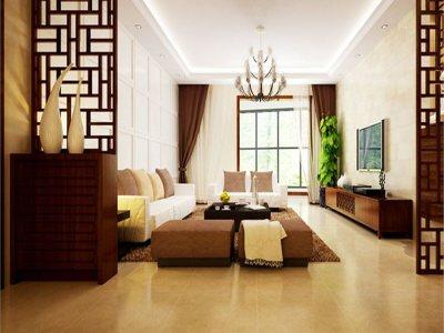 欧美风情-154平米三居室装修样板间