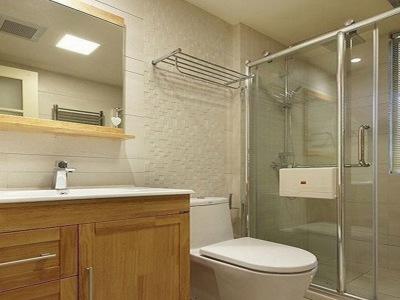 现代简约-88平米三居室装修样板间