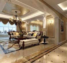 中大青山湖东园 118平 三居室 欧式风格
