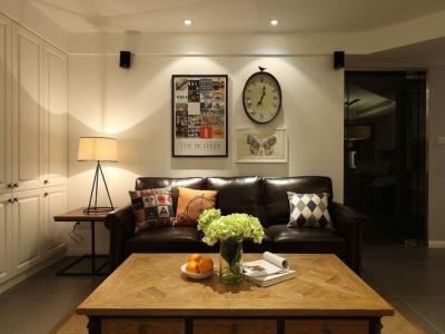 混搭风格-98平米三居室装修样板间
