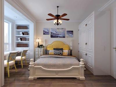 欧美风情-170平米三居室装修样板间