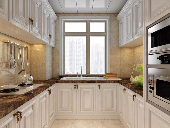 欧美风情-170平米三居室-装修样板间