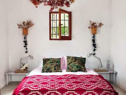 浪漫田园风格自然感卧室装修效果图