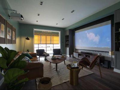 欧美风情-133平米四居室装修样板间