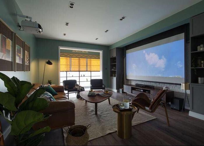 欧美风情-133平米四居室-装修样板间