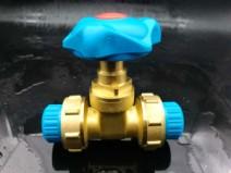 桑乐深海蓝高端家用专利多功能双活闸阀图片