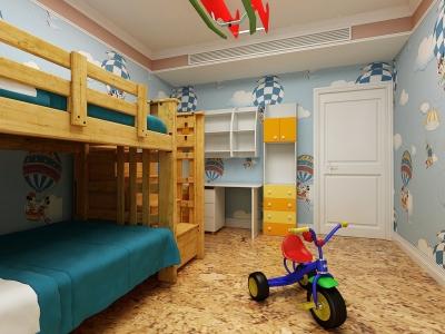 西式古典-145.99平米四居室装修样板间