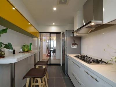 现代简约-99平米三居室装修样板间