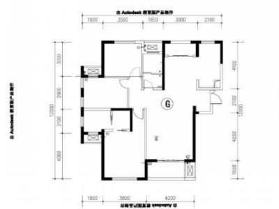 简欧风格-141平米三居室装修样板间