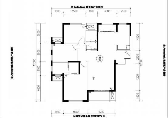 简欧风格-141平米三居室-装修样板间