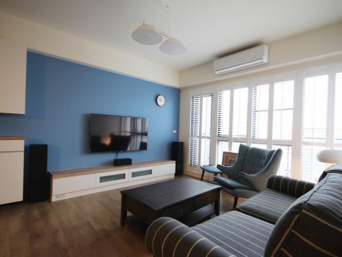 现代简约-89平米三居室-装修样板间