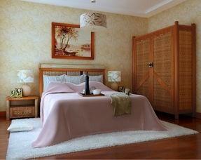 东南亚风格三居室卧室衣柜装修效果图欣赏