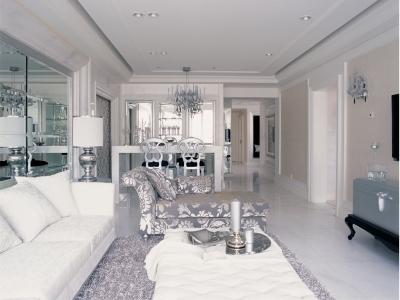 新古典风格-148平米三居室装修样板间
