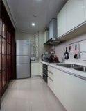 现代简约厨房装修效果图图片