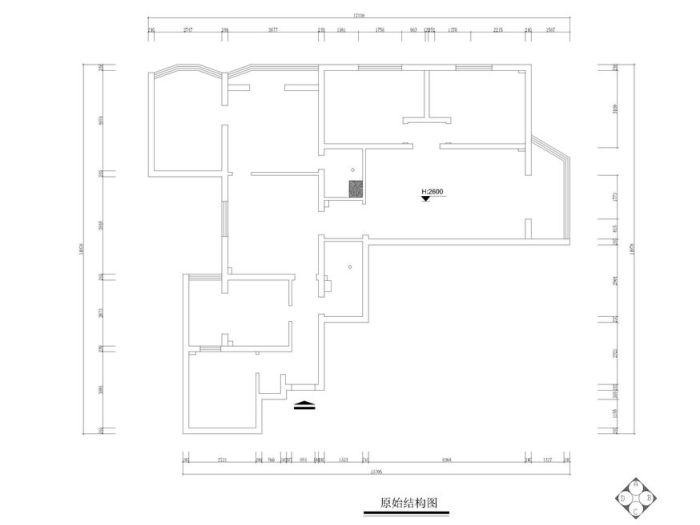 简欧风格-165平米三居室-装修样板间