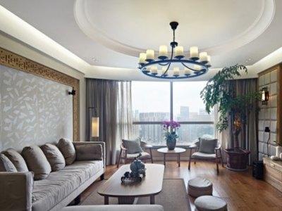 中式古典-146.78平米三居室装修样板间