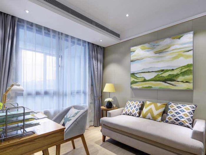 地中海风格-140平米三居室-装修样板间