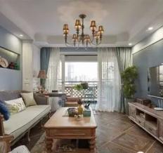 东津世纪城-美式-两居室