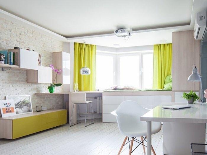 现代简约-41平米二居室-装修样板间