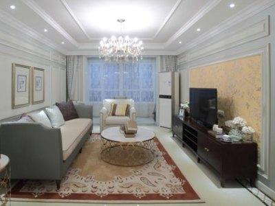 混搭风格-129.17平米四居室装修样板间