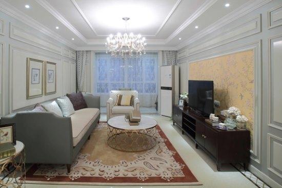 混搭风格-129.17平米四居室-装修样板间