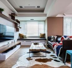 赞城YOHO TOWN-三居室-96.08平米-装修设计