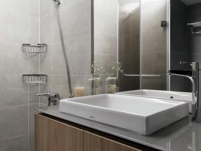现代简约-108平米三居室装修样板间