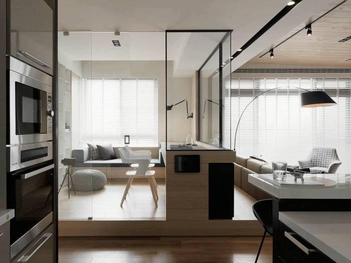 现代风格-280平米五居室-装修样板间