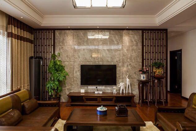 中式古典-134.44平米四居室-装修样板间