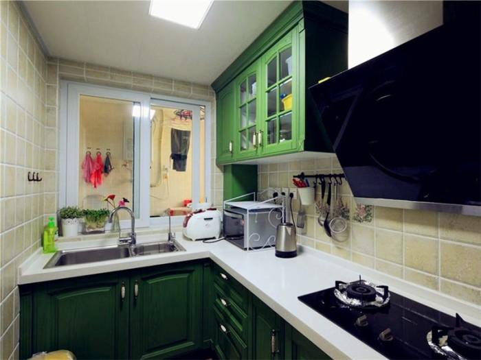 混搭风格-78.5平米二居室-装修样板间