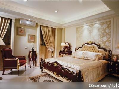 西式古典-121平米四居室装修样板间