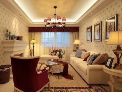 田园风格-144.68平米三居室装修样板间
