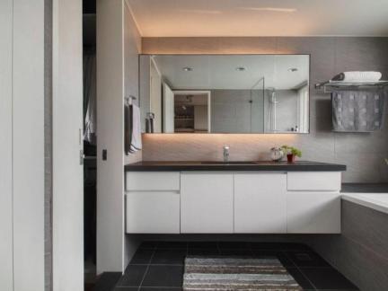 家装简洁简约风格卫生间装修图片