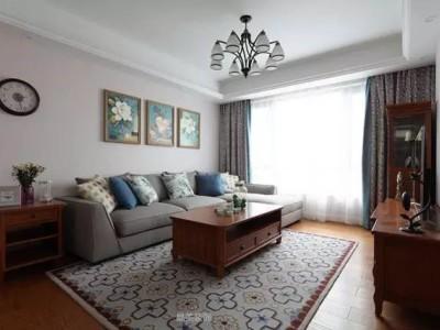 西式古典-137.25平米三居室装修样板间