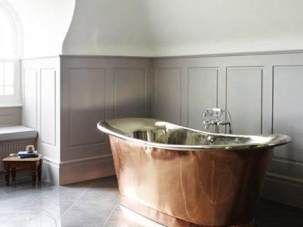 精致复古欧式风格卫生间浴缸装修图片