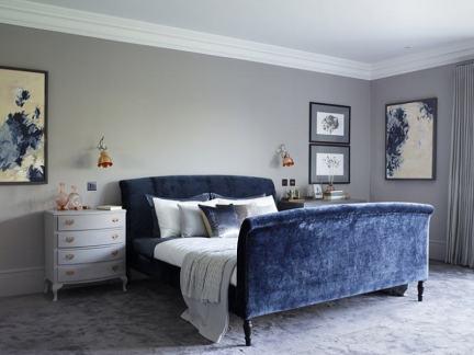 浪漫欧式风格气质高贵卧室装修效果图