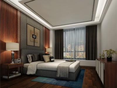中式风格-252平米四居室装修样板间