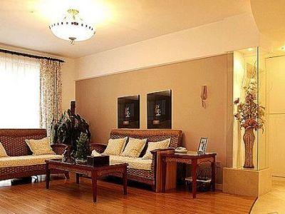 田园风格-96.2平米二居室装修样板间