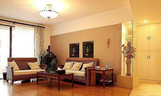 田园风格-96.2平米二居室-装修样板间