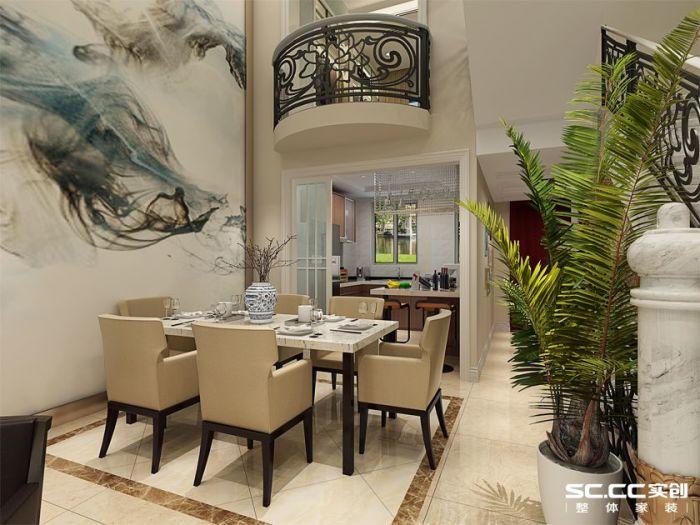 新古典风格-333.08平米五居室-装修样板间