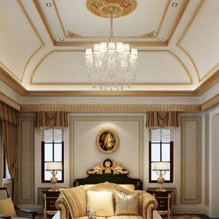 西式古典四居室卧室装修效果图