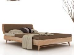 北欧风储物实木床 1.8米双人床 1.5m胡桃木床 进口黑胡