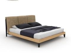 北欧风实木床 软靠双人床1.8米婚床现代简约白蜡木1.5米木