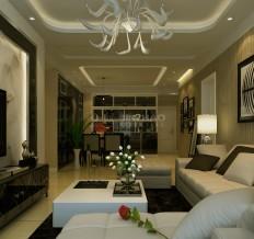 阳光台365-96平二居室-简约风格
