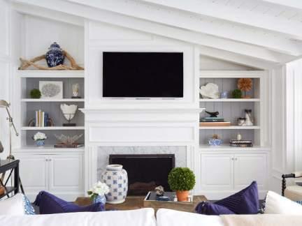 明净白色简欧风格浪漫客厅装修图