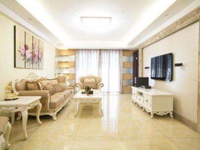 新古典风格-137.3平米三居室装修样板间
